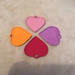 Williams Sonoma heart shaped appetizer plates